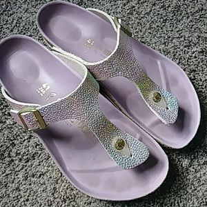 Sparkly Birkenstock Shoes, size 41!